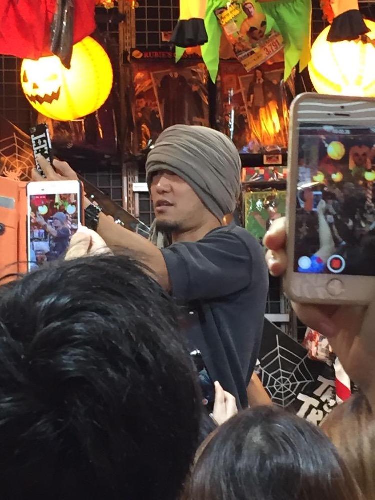 ドンキ横浜西口店にて湘南乃風のHAN-KUN(ハンクン)を発見!歌手/アーティスト