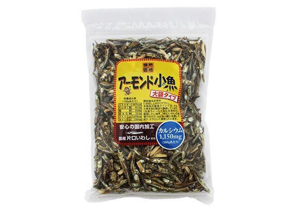 AKB高橋みなみも愛食「小魚アーモンド」酒のつまみに最適です!